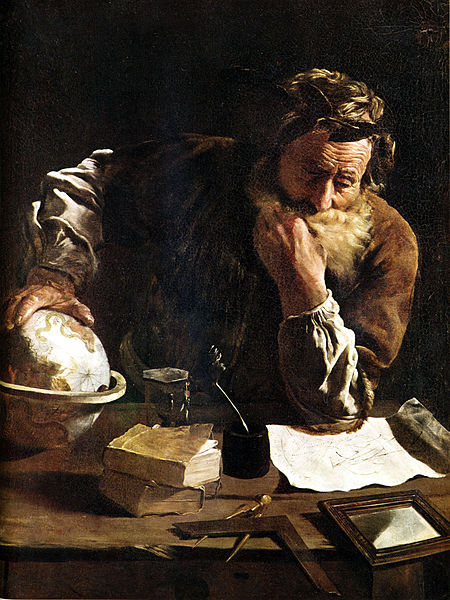 Archimedes by Domenico-Fetti - 1620