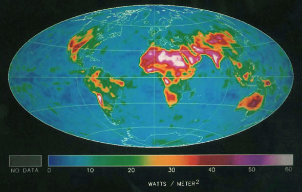 1988 First estimates of the diurnal variation of longwave radiation