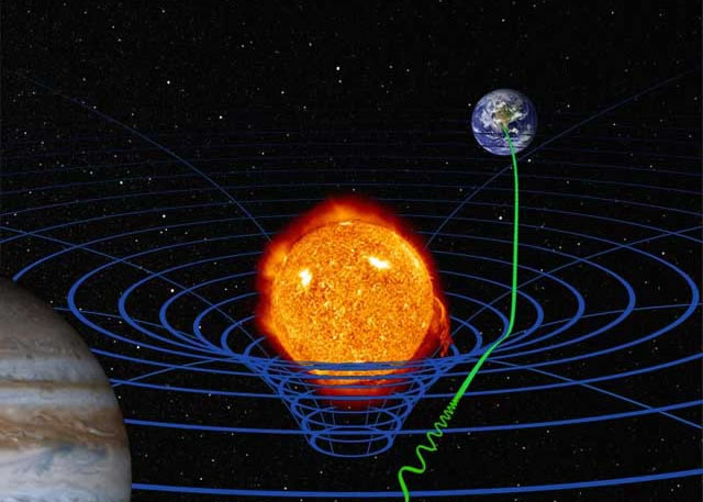 Artist's concept of general relativity