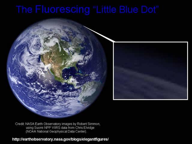 Mariner 2 - Earth Light Anomaly