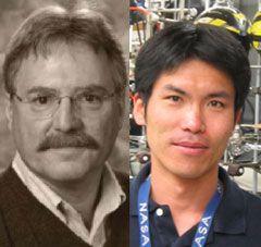 Professor Mark A. Smith and Hiroshi Imanaka - University of Arizona