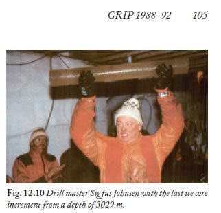 Frozen Annals - GRIP last ice core from 3029 metres