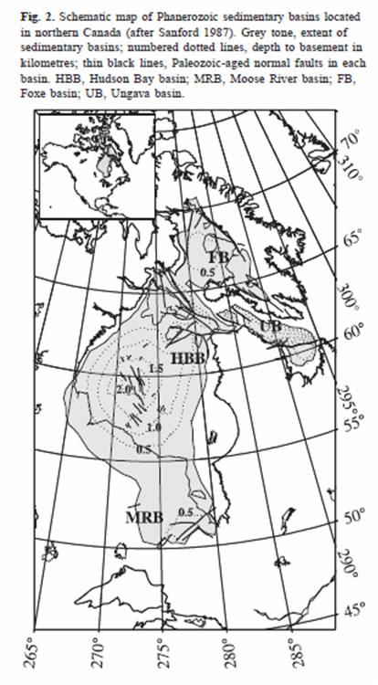 Hudson Bay - Bathymetry
