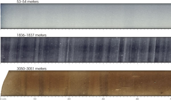 Ice Cores by Depth