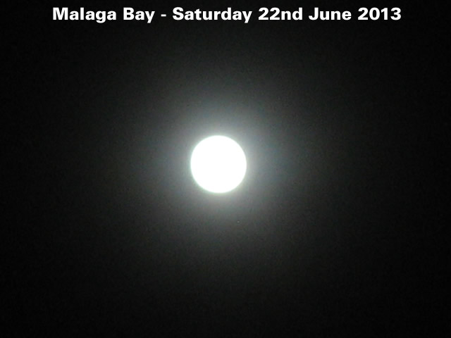 Moon - 22 June 2013