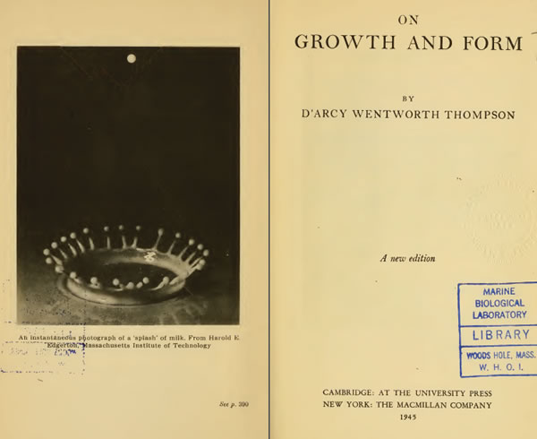 On Growth and Form - 1917 - D'Arcy Wentworth Thompson