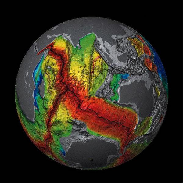 Seafloor Stretching - Southern Hemisphere