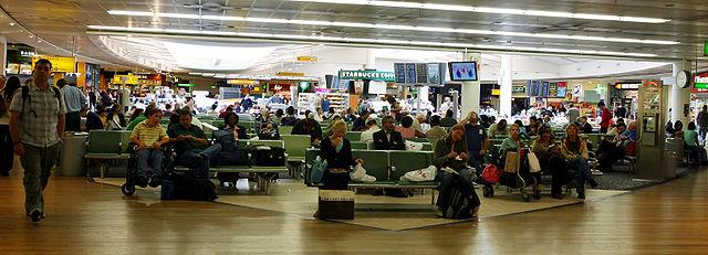 LHR - London Heathrow - Terminal 3 waiting area