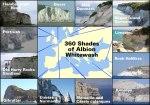 White Cliffs in Europe - Map