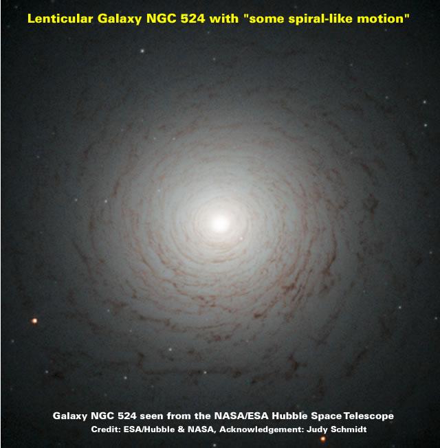 Galaxy NGC 524