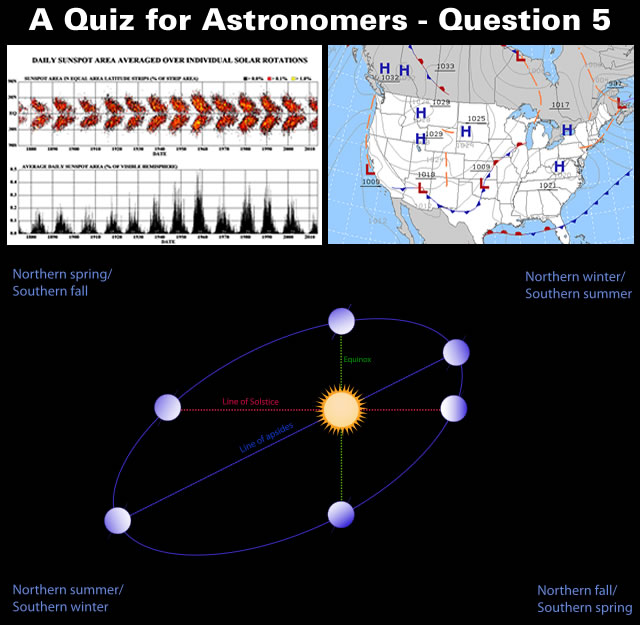 A Quiz for Astronomers - Question Five