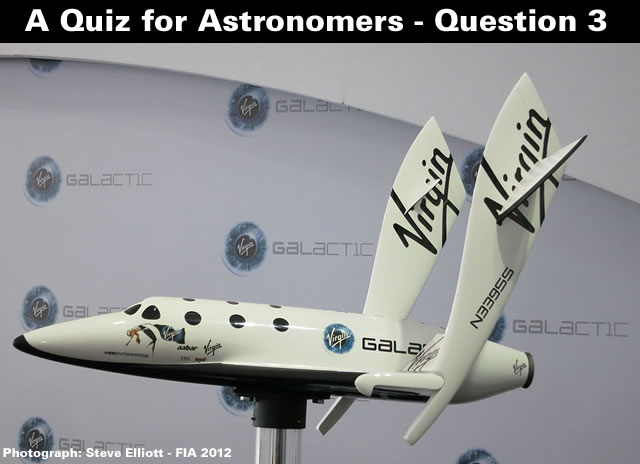 A Quiz for Astronomers - Question Three