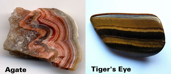 Agate and Tigers Eye