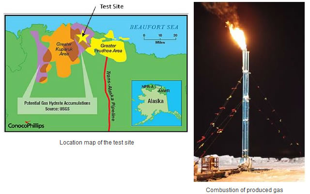 Field trial of a methane hydrate production