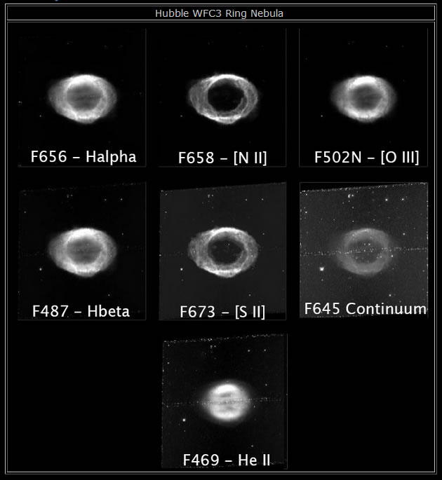 Hubble WFC3 Ring Nebula