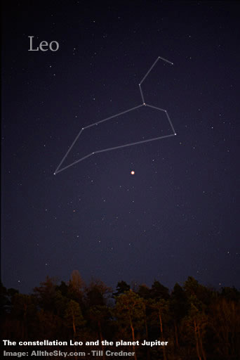 The constellation Leo