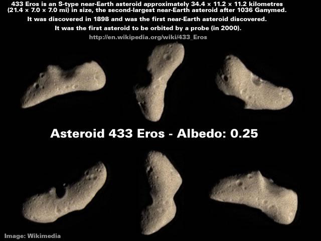 Asteriod 433 Eros