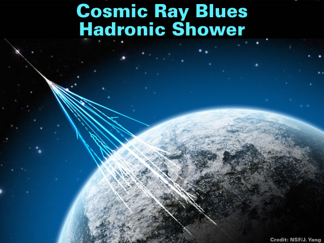 Cosmic Hadronic Shower
