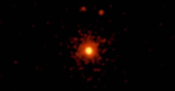 Proxima Centauri - orange