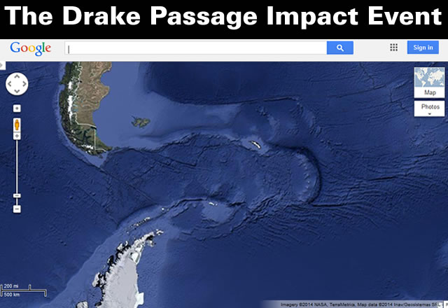 The Drake Passage Impact Event