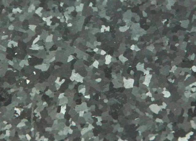 Willamette meteorite - Widmanstätten structure