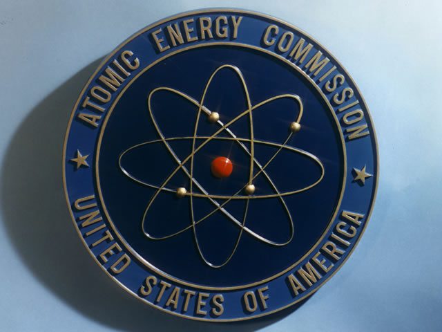 Logo of the United States Atomic Energy Commission 1946-1974