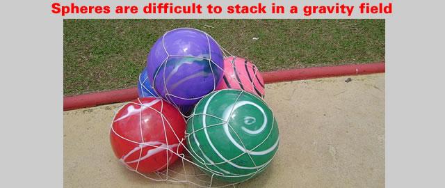 Spherical Stacking