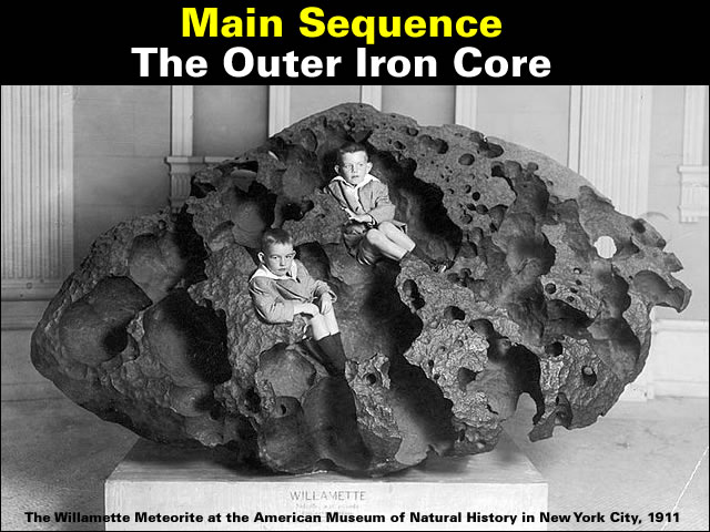 The outer iron core
