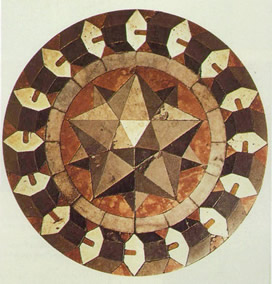 Marble floor mosaic - Basilica of St Mark - Vencice