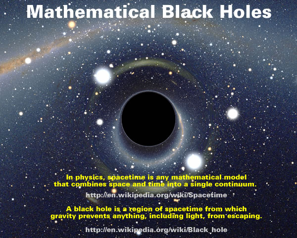 Mathematical Black Holes