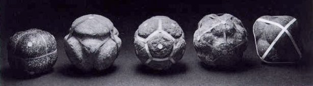 Megalithic carved stone balls from Scotland
