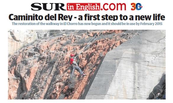 Caminito del Rey - Restoration