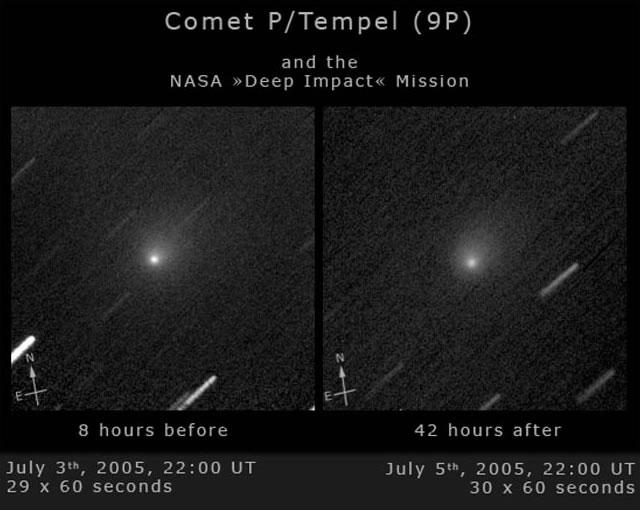 Comet Tempel - Deep Impact