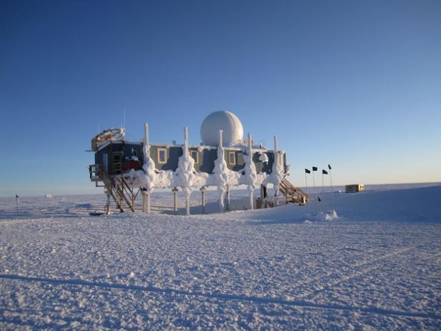 Greenland - Camp Summit - Big House by Robin Carroccia