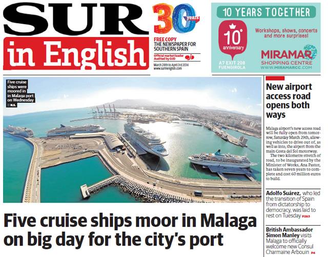 Malaga Fly-Cruise