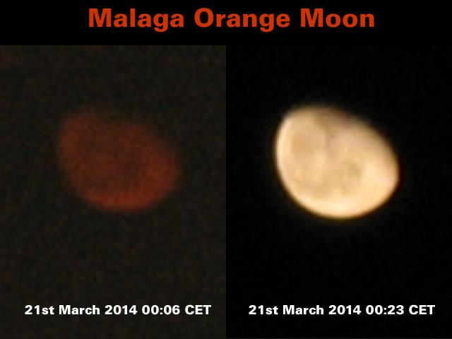 Malaga Red Moon
