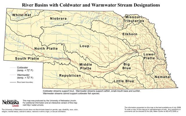 Nebraska River Basins
