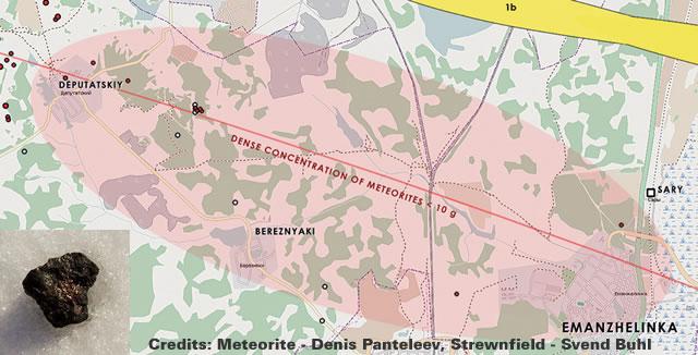 Chelyabinsk Strewn Field