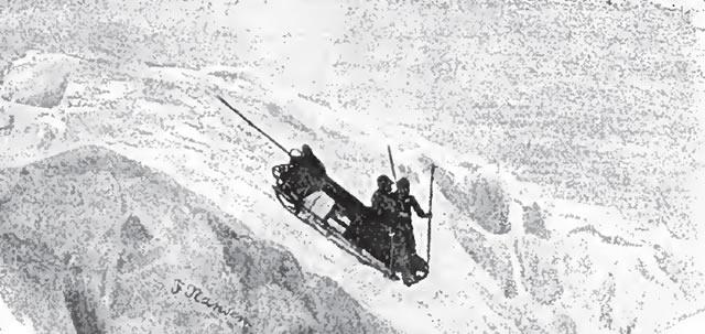 Coasting down the slopes