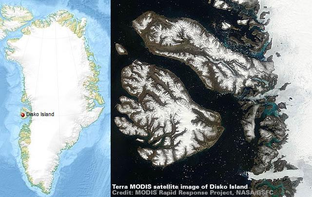 Disko Island - Greenland