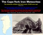 Greenland - The Cape York Iron Meteorites