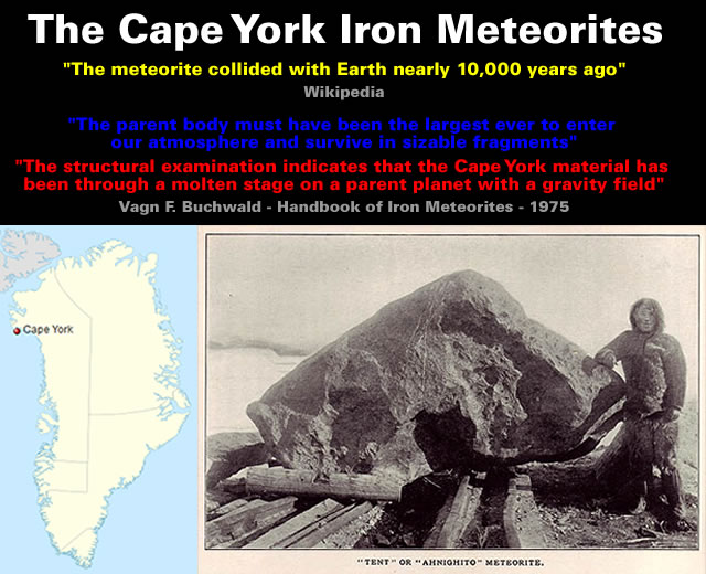 Greenland - The Cape York Iron Meteorites