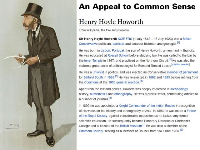 Henry Hoyle Howorth