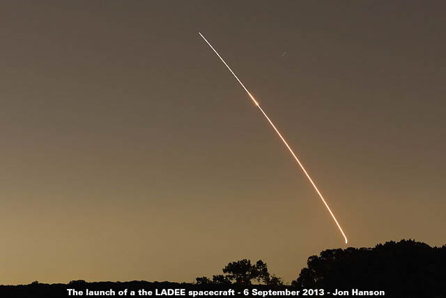 Launch of LADEE