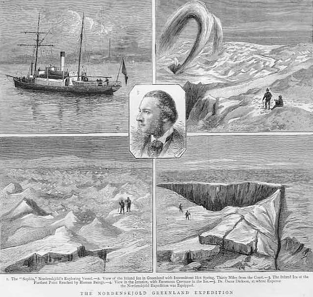 Nordenskjold Greenland Expedition 1883
