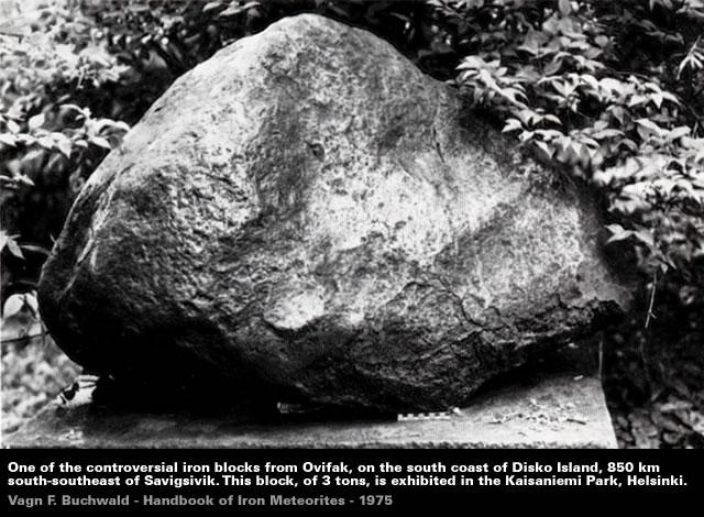 Ovifax Meteorite