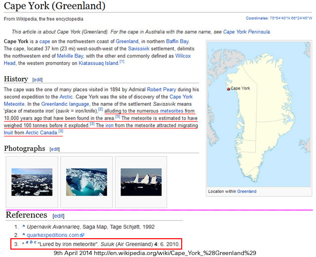Wikipedia - Cape York