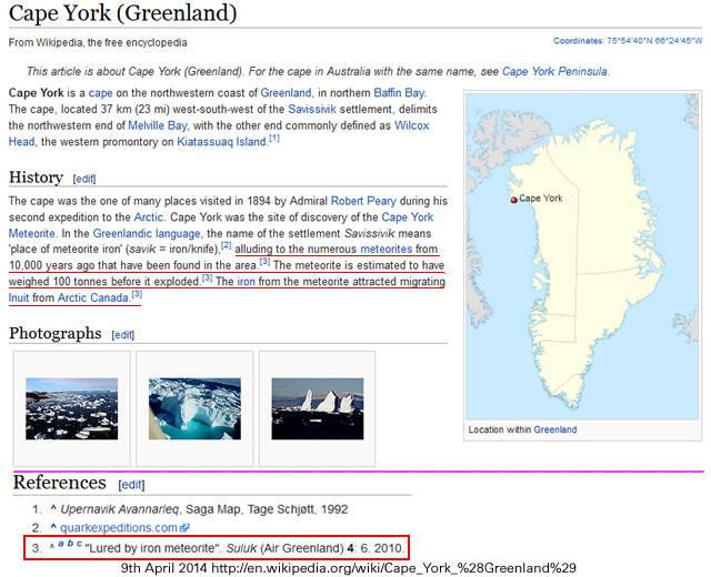 Wikipedia - Cape York