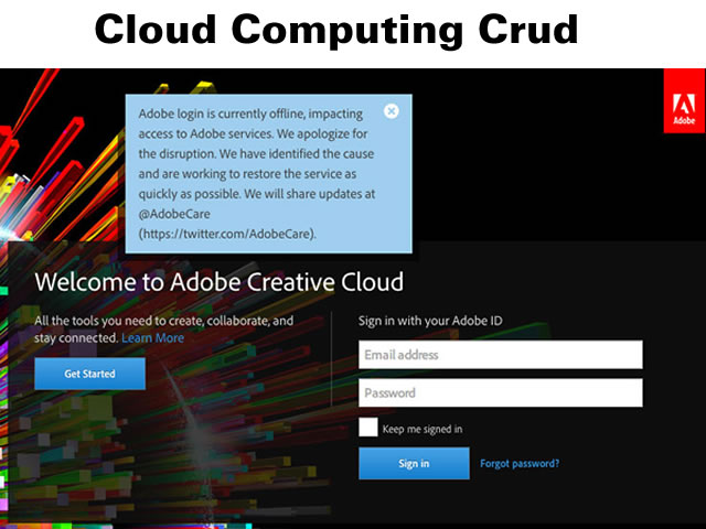 Cloud Computing Crud