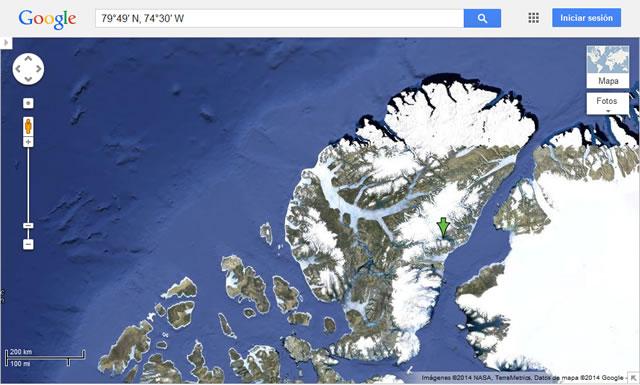 John Evans Glacier